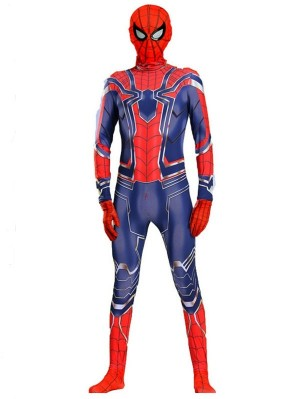 Avengers 3 Iron Spider Man Cosplay Costume Marvel Cosplay Costume