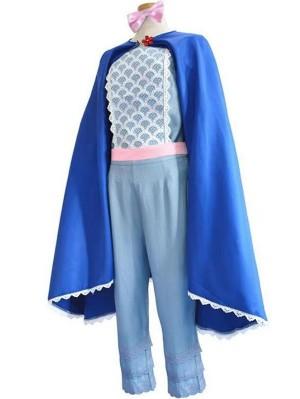 Disney Toy Story 4 Bo Peep Cosplay Costume Movie Cosplay Costume
