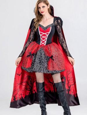 Halloween Party Dress Vampire Queen Cospaly Costume