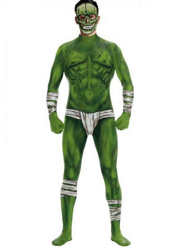 Women's 3D Hulk Cosplay Halloween Jumpsuit