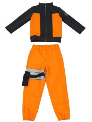 Child Uzumaki Naruto Cosplay Costume Children's Anime Costume