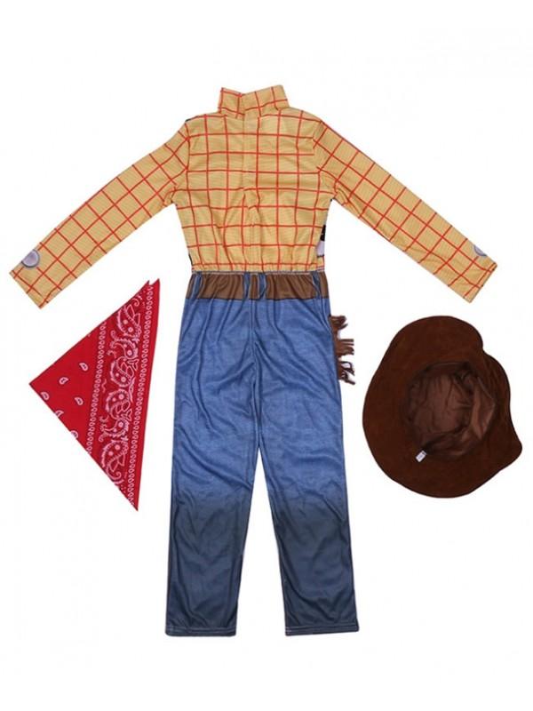 Children's Cowboy Woody Costume Boys Cosplay Costume