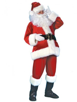 Christmas Santa Claus Cosplay Costume Christmas Costume