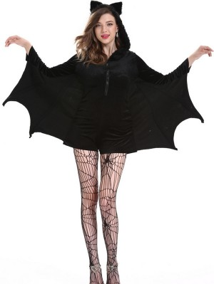 Sexy Women Bat Cosplay Costume Halloween Cosplay Costume