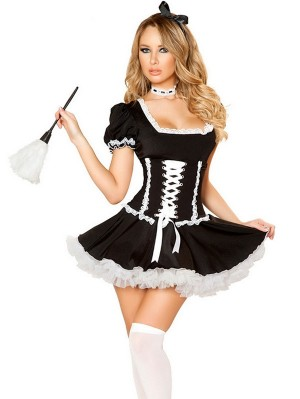 Sexy Women Maid Cosplay Costume Sexy Lingerie Uniform