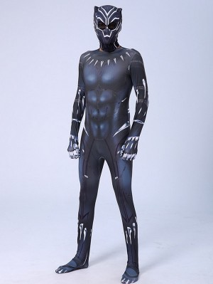 The Avengers Black Panther Cosplay Costume Marvel Cosplay Costume