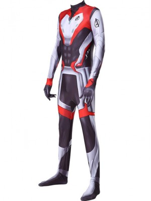2019 Avengers Endgame Quantum Suit Marvel Cosplay Costume