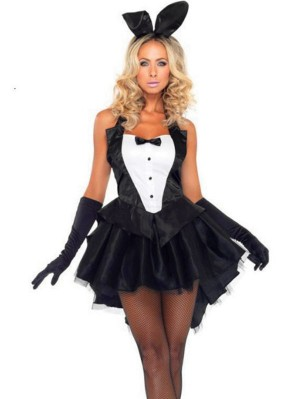 Bunny Girl Cosplay Costume Night Bar Rabbit Costume Halloween Cosplay Costume