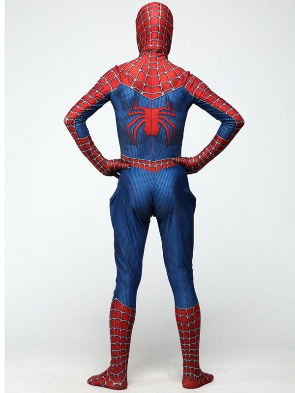 Raimi Tobey Spider Man Cosplay Costume Marvel Cosplay Costume
