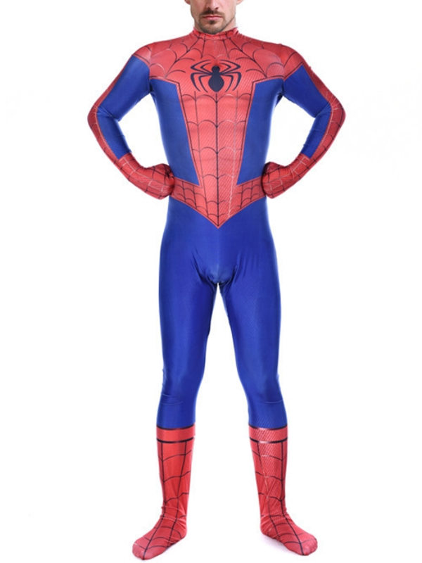 Spider-Man Into the Spider-Verse Peter Parker Cosplay Costume Marvel Cosplay Costume