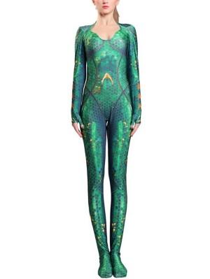 DC Mera Cosplay Costume Xebel Princess Cosplay Costume