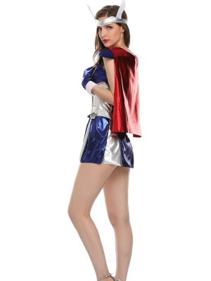Lady Thor Cosplay Costume Adult Superhero Cosplay Costume