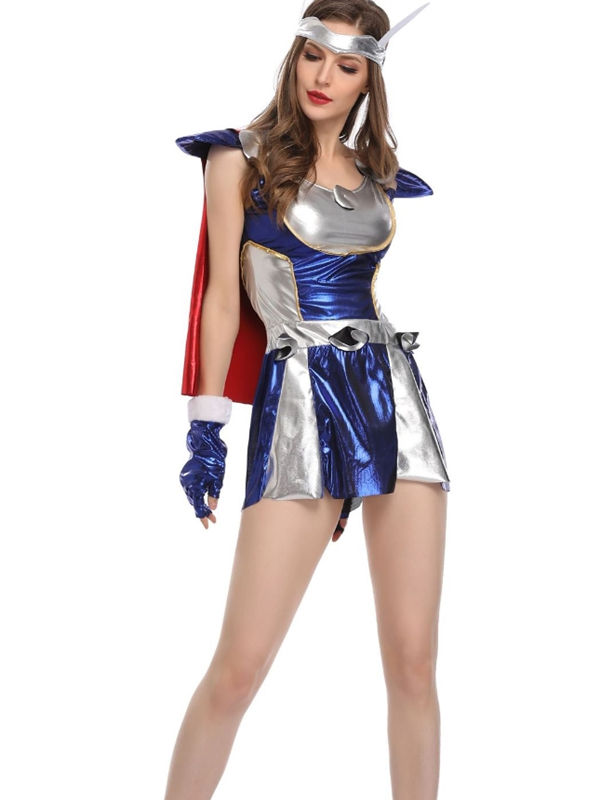 Lady Thor Cosplay Costume Adult Superhero Cosplay Costume