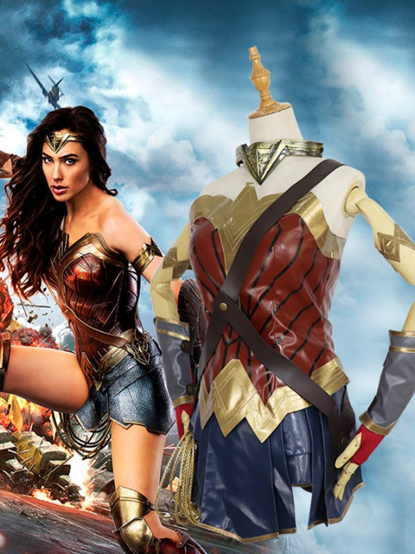 Justice League Wonder Woman Cosplay Costume DC Cosplay Costume