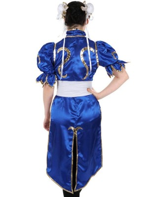 Street Fighter Chunli Cosplay Costume Game Cosplay Costume