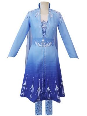 Frozen 2 Cosplay Costume Adult Princess Elsa Costume