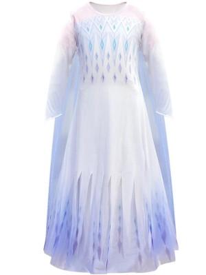 Girls Princess Elsa Costume Frozen Cosplay Costume