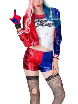 Suicide Squad Harley Quinn Cosplay Costume DC Cosplay Costume