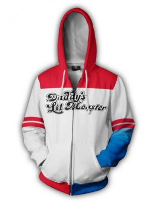 Casual Suicide Squad 3D Harley Quinn Print Hoodie