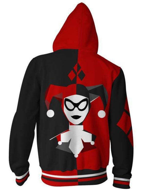 Fashion Suicide Squad Harley Quinn 3D Print Hoodie