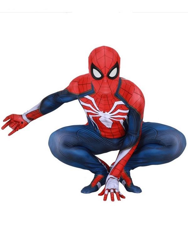 PS4 Spider Man Cosplay Costume Halloween Cosplay Costume