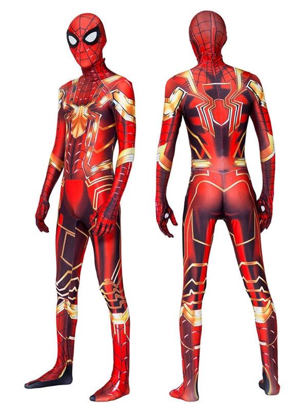 New Iron Spider Man Cosplay Costume Halloween Cosplay Costume
