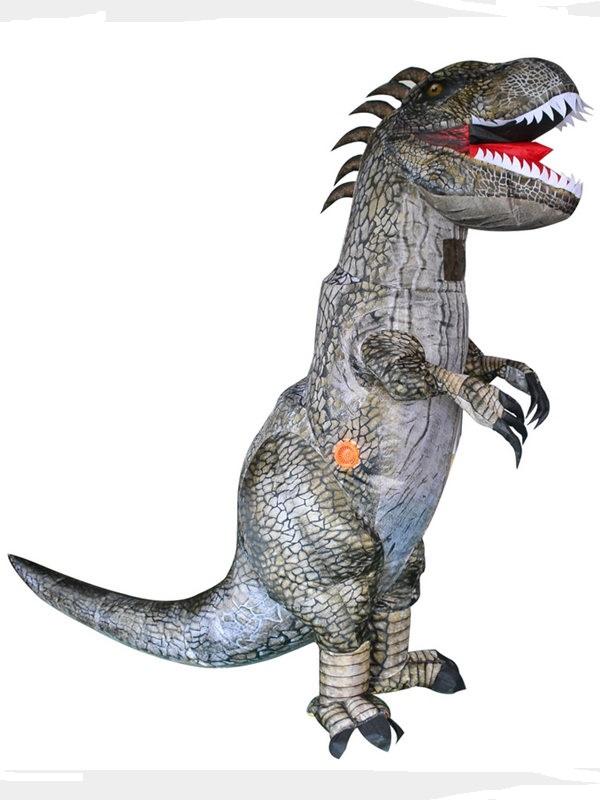 Halloween Funny Tyrannosaurus Inflatable Suit Dinosaur Cosplay Costume