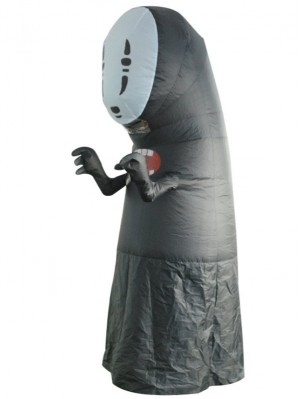 Halloween Funny Spirited Away No Face Man Inflatable Costume