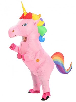 Halloween Unicorn Inflatable Costume For Adult And Children
