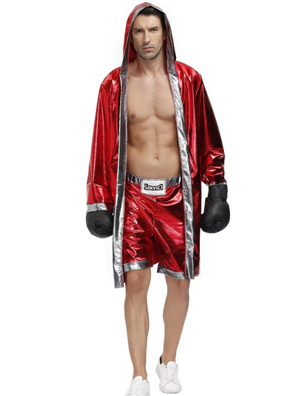 Boxer Cosplay Costume For Men And Women Fighting Robe Cloak