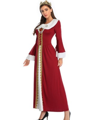 Women's Queen Cosplay Costume For Christmas Halloween