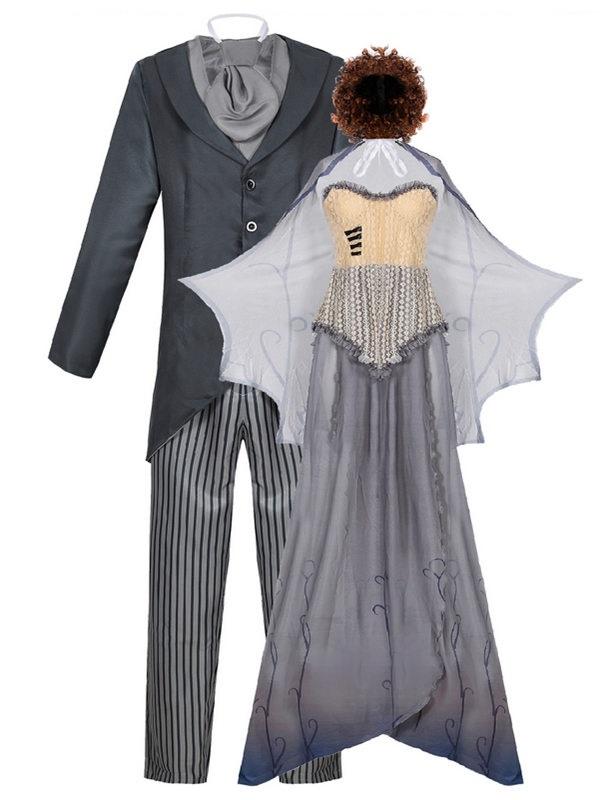 Halloween Tim Burton's Corpse Bride Cosplay Victor Van Dort Costume
