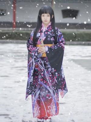Jigoku Shoujo Hell Girl Cosplay Costume Enma Ai Cosplay Costume