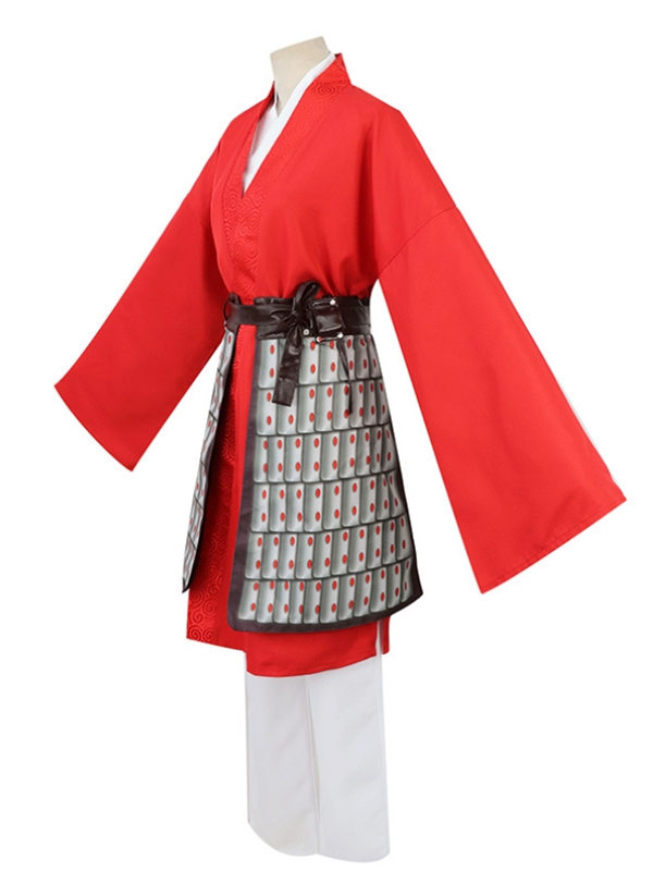 Disney 2020 Mulan Cosplay Costume Ancient Chinese Clothing