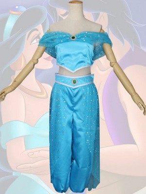 Adult Aladin Princess Jasmine Cosplay Costume