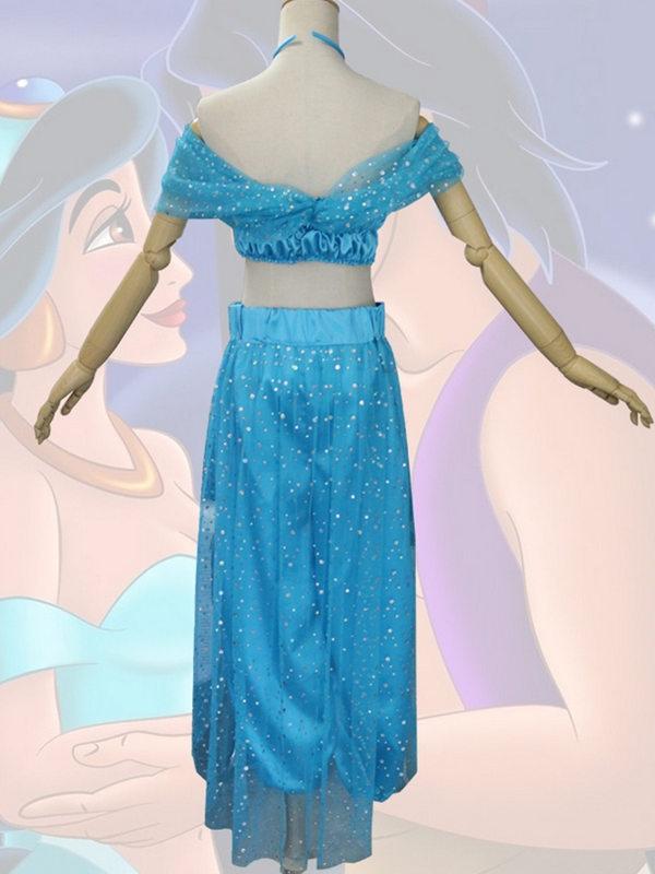 Adult Aladin Princess Jasmine Cosplay Costume