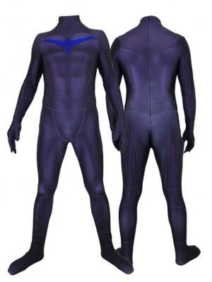 Nightwing Cosplay Bodysuit 3D Print Superhero Jumpsuit