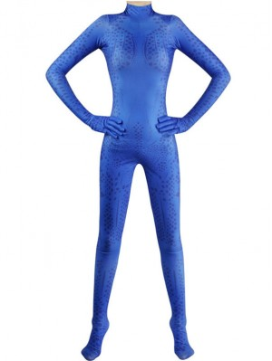 X-MEN Mystique Cosplay Costume Marvel Jumpsuit