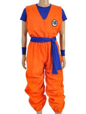 Dragon Ball Goku Cosplay Costume For Adult