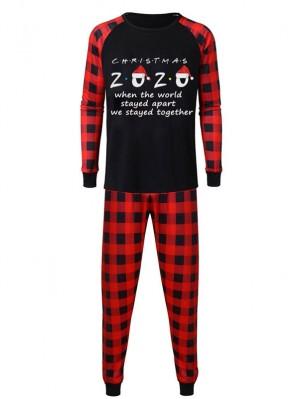 Christmas Plaid Pajamas Family Christmas 2020 Print Matching Pajamas Set