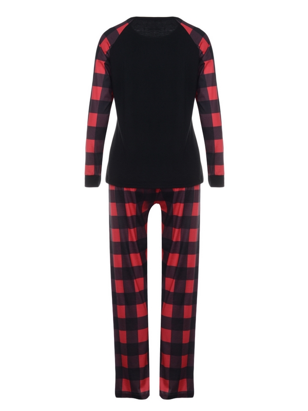 Christmas Matching Pajamas For Family Merry Christmas Print Pajamas Set