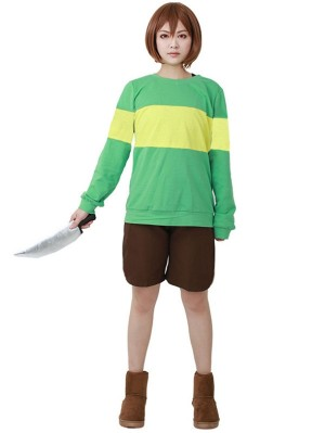 Undertale Chara Cosplay Costume Game Costume