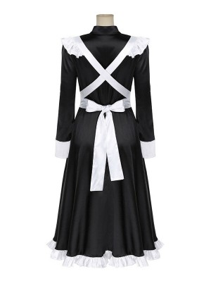 Victorian Maid Cosplay Costume Halloween Women's Maid Dress