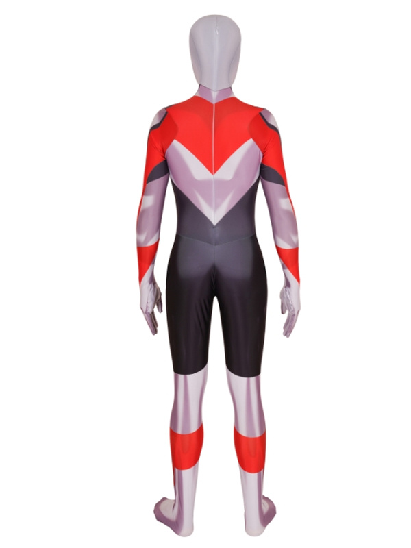 Anime 3D Pirnt Ultraman Cosplay Jumpsuit For Adult