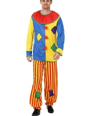 Halloween Clown Costume Masquerade Party Costume