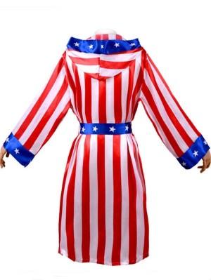 Stallone Rocky Balboa Boxing Suit Halloween Costume