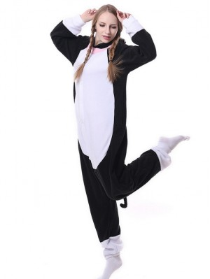 Adult Cat Onesie Pajamas Animal Onesie For Couple