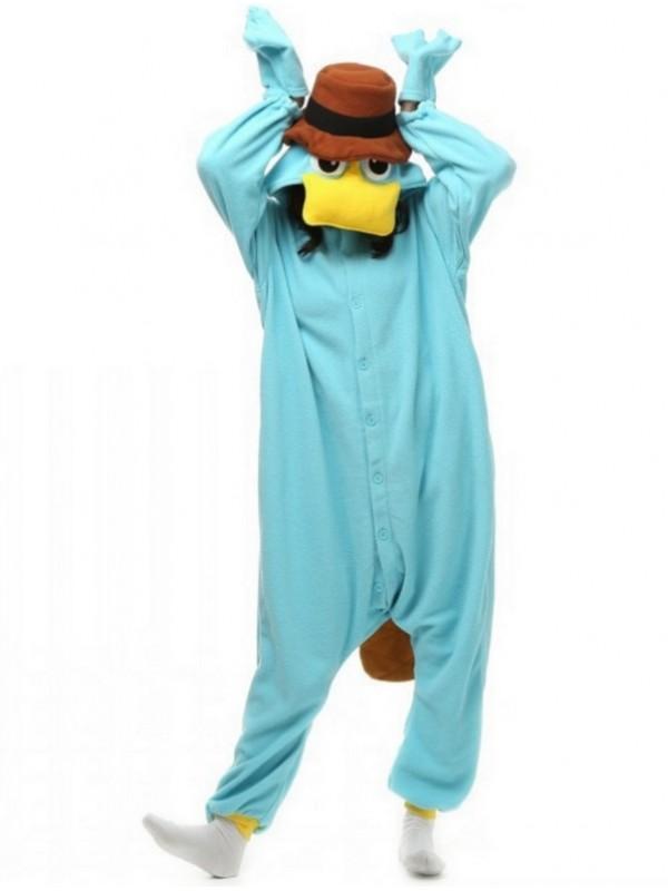 Adult Platypus Onesie Pajamas Animal Onesie For Couple