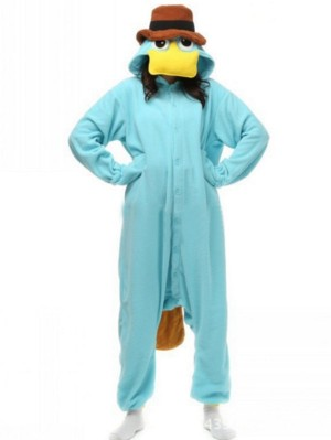 Adult Platypus Onesie Pajamas Animal Onesie For Couple