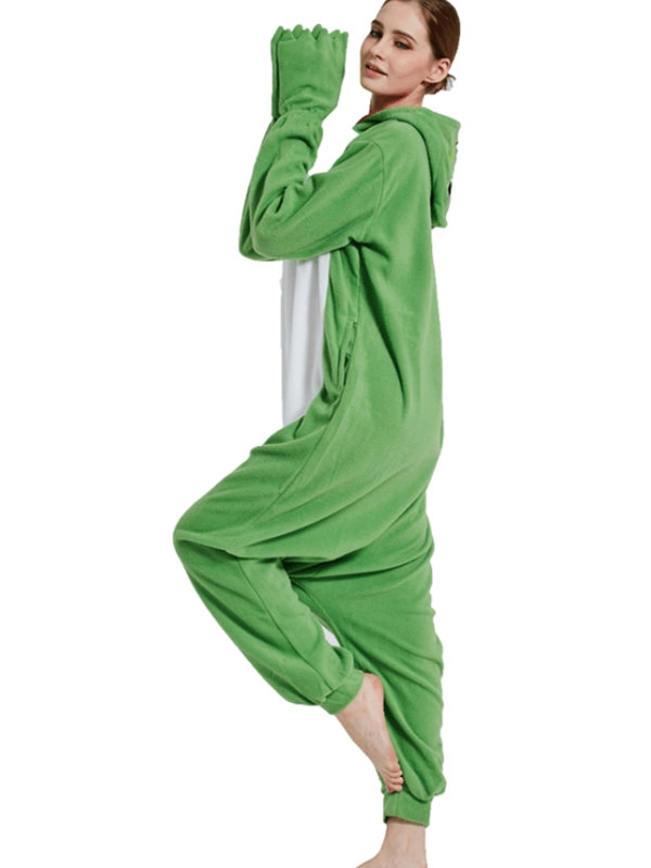Adult Frog Onesie Pajamas Animal Onesie For Couple